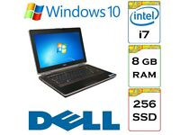 EXTREMELY QUICK - Dell Latitude e6420 i7 2.8 Ghz 8gb Ram 256gb SSD Windows 10 Laptop