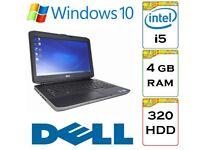 BARGAIN - Dell Latitude e5430 i5 2.5 Ghz 4gb Ram 320gb HDD Windows 10 Laptop