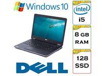 VERY QUICK Dell Latitude e7440 i5 8gb Ram 128gb SSD Windows 10 Laptop Ultrabook