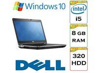 EXCELLENT - Dell Latitude e6440 i5 2.6 Ghz 8gb Ram 320gb Hard Drive running Windows 10 Laptop