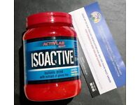 Activlab Isoactive 630 g - great isotonic drink contains carbohydrates, vitamins and minerals!