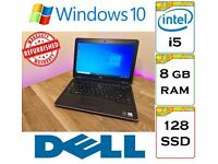 REFURBISHED - Dell Latitude E7240 Intel Core i5 8gb Ram 128gb SSD Windows 10 Laptop