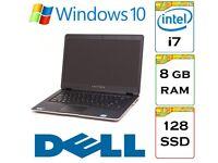 EXTREMELY QUICK - A+ - Dell Latitude e6430U i7 8gb Ram 128gb SSD Windows 10 Laptop Ultrabook.