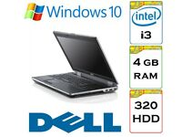 BARGAIN - Dell Latitude e6320 i3 2.4 Ghz 4gb Ram 320gb HDD Windows 10 Laptop