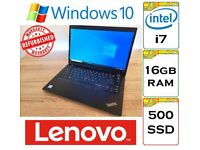 SUPERB - Lenovo Thinkpad x390 i7-8565u 16gb DDR4 Ram 512gb NVME SSD Windows 10 Laptop
