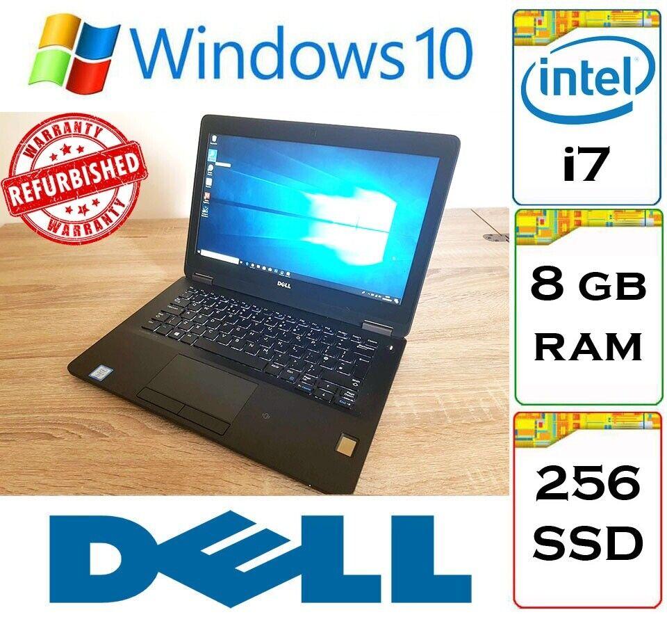 Dell Latitude 7270 i7 (6th Gen) 8gb DDR4 Ram 256gb NVMe SSD IPS FHD Windows  10 Laptop | in Thornliebank, Glasgow | Gumtree