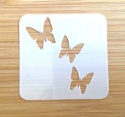 Face painting stencil reusable washable butterfly Arch Mylar 190 microns](Face Paint Butterfly)