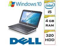 BARGAIN - Dell Latitude e5420 i5 2.5 Ghz 4gb Ram 320gb HDD Windows 10 Laptop