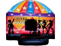 DISCO DOME BOUNCY CASTLE for hire / Popcorn & Candy Floss / Ice cream van + more / Essex & London