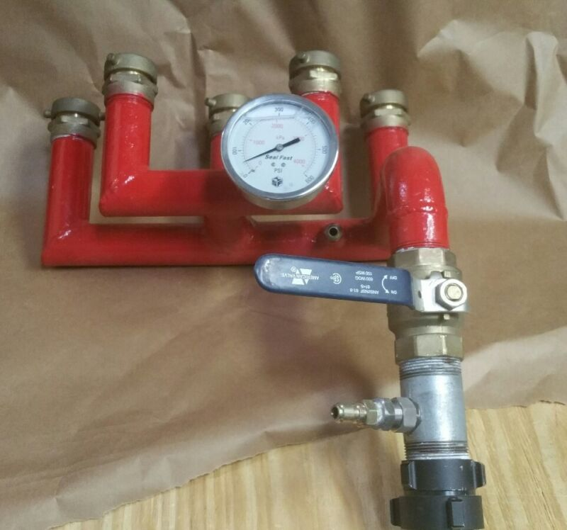 SealFast Fire Foam Manifold Eductor
