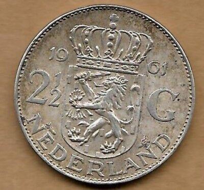 2 1/2 gulden argent 1961