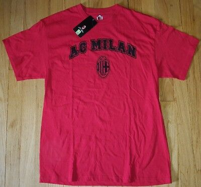 New AC MILAN shirt L soccer football red jersey NWT Suso Andre Sliva Bonucci