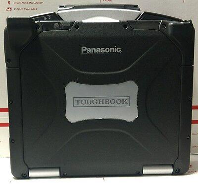 Panasonic Toughbook  GPS-1TB HDD 4GB MM Intel Core 2 Duo, 1.6 GHz win 7 64bit