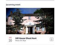 Hill house sleepover ghost hunt