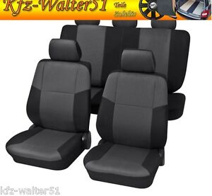 sylt noir voiture housse de si ge pour audi 80 90 100 a3 a4 a6 ebay. Black Bedroom Furniture Sets. Home Design Ideas