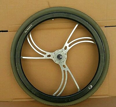 AS IS!!  (1) Colours  Y 360 Model Billet Wheelchair Wheel Aluminum Custom