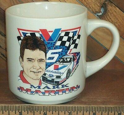 NASCAR Roush Racing Driver Mark Martin Valvoline #6 Race Car Coffee Mug Tea Cup Mark Martin Race Car Driver
