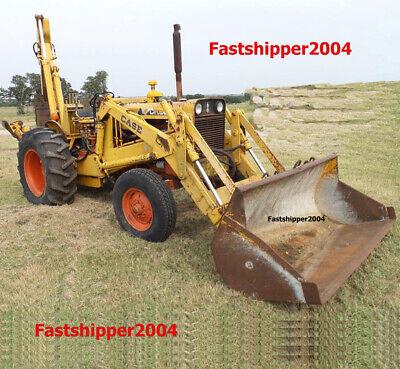 Case 580 Ck Loader Backhoe Shop Service Manual Tractors Diesel Engines 580ck 33