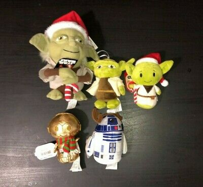Starwars Christmas Plush Hallmark toys/decorations new