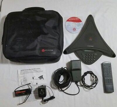 Polycom Soundstation Premier Business Office Conference Speaker Phone Extras