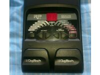Digitech RP55 Guitar Multi-Effects Pedal Processor with 80 Presets and Drums Patterns.