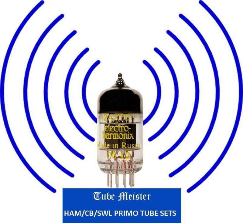 Hammarlund HQ-145 Receiver Primo Tube Set 6AQ5