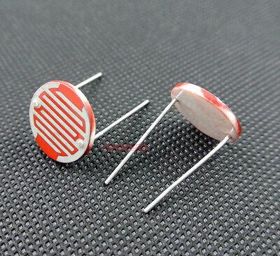 20539 Gm20539 Photoresistor 20mm Light Sensitive Photo Resistor X10pcs