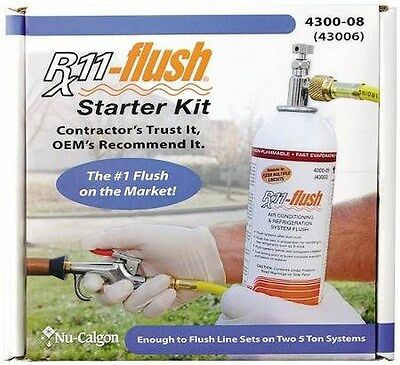 Rx11-flush Kit System Cleaning Retrofits Burn-outs And R410a Conversions