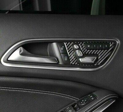 Passend zu Mercedes Benz A B C GLA X156 CLA C117 Carbon Blende Türgriff Rahmen