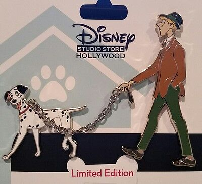 Disney DSF Walking Dog Roger Walking Pongo Pin 101 Dalmatians Pin LE 300