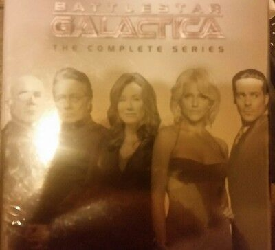 Battlestar Galactica   The Complete Series New Dvd 26 Disc Factory Sealed