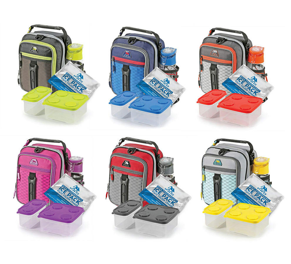 high performance dual compartment lunch box assorted