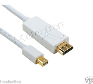 3m Thunderbolt / Mini Display Port DP to HDMI Cable for Mac iMac Macbook Air Pro