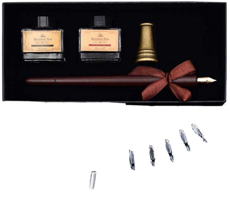 Vintage style Calligraphy Set AIVN 17 Pieces