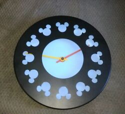 Disney Gallery Michael Graves Mickey Mouse Gourmet Collection 10 Wall Clock