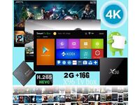 X96 Amlogic S905X Quad Core 4K Tv Box Marshmallow Android 6 2G/16G KODI 16.1