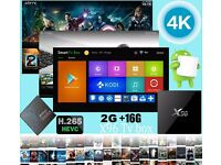 2016 X96 Amlogic S905X Quad Core 4K Tv Box Marshmallow Android 6 2G/16G KODI 16.1