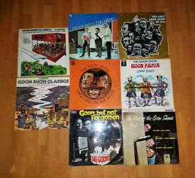 8 GOON SHOW LP's VINYL SPIKE MILLIGAN PETER SELLERS