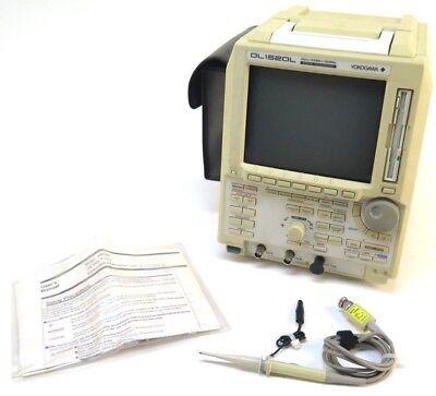 Yokogawa Dl1520l Digital Oscilloscope 8 Bits 200mss 150mhz