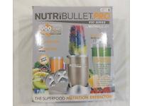 NutriBullet PRO 900W Nutri Bullet Superfood Blender Champane Original box