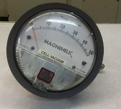 Magnehelic 2050 Differential Pressure Gage New
