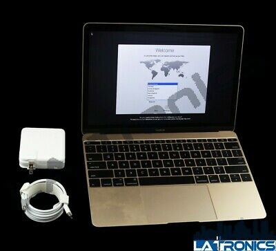 "Apple MacBook Retina 12"" Early 2015 A1534 Rose Gold m5 1.2GHz 8GB RAM 256GB SSD"