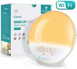 HeimVision Sunrise Alarm Clock, Smart Wake up Light Sleep Aid Digital Alarm