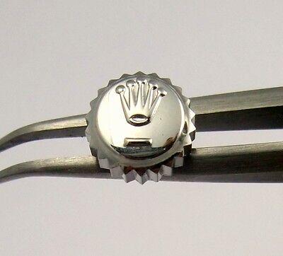 Rolex Watch Crown Steel 5.3mm part Oyster Date Perpetaul 6695 6694 6494 6294