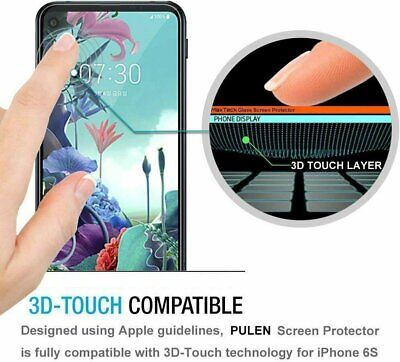 MagicGuardz® Premium Tempered Glass Film Screen Protector Saver For LG Q70 Cell Phone Accessories