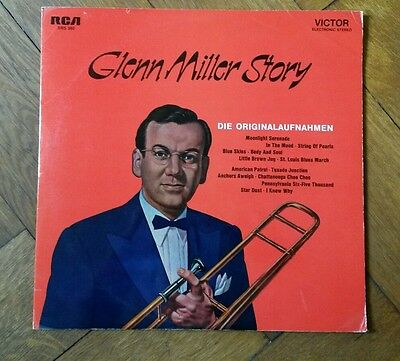 Glenn Miller And His Orchestra. Glenn Miller Story  - Vinyl LP m-  Great cond.