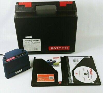 Axicon 6515 Ansiiso Grade Barcode Verifier W Installation Software Case