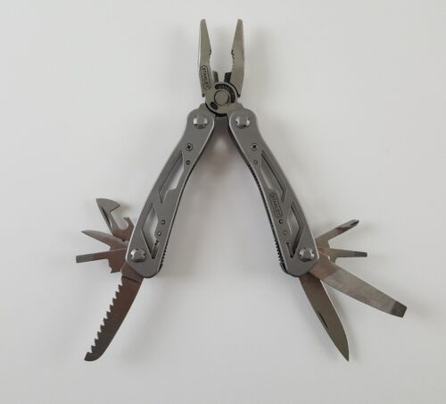 Stanley 12-in-1 Multi-Tool - Long Nose Pliers, Saw, Knife, S