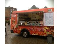 (Burger, fish&chips and ice cream) van! All in one! Best fast money maker ever!