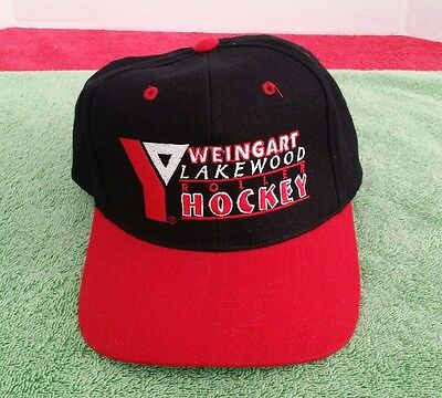 Weingart Roller Hockey Hat Lakewood CA YMCA inline Skating Trucker Baseball VTG